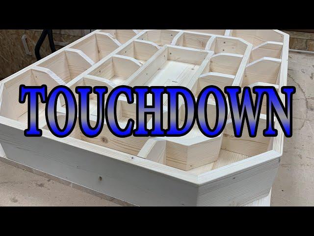 Super Bowl 2021 kann kommen die Football Futter Stadion ist fertig!   Snack Stadium   Lets do it