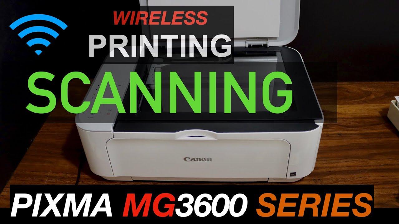 Canon Pixma MG20 Scanning & Printing.