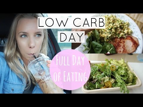 Low Carb Day | Full Day of Eating