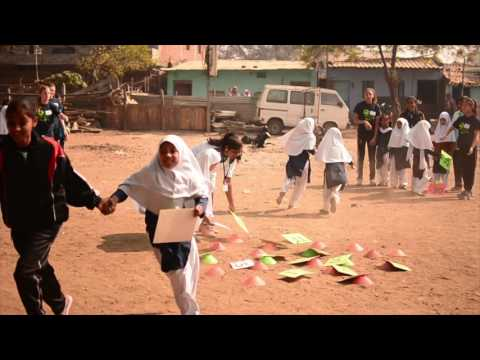 Slum Soccer Edu-kick with Goals for Girls