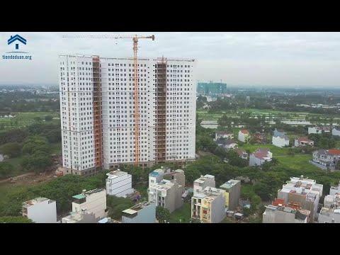 Tiến Độ Căn Hộ Saigon Intela Tháng 08/2020