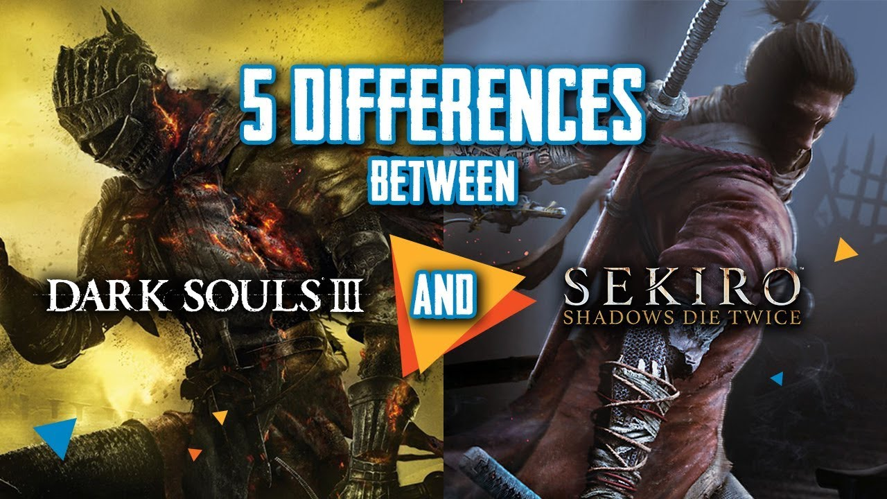 Top 5 Differences between Sekiro and Dark Souls - YouTube