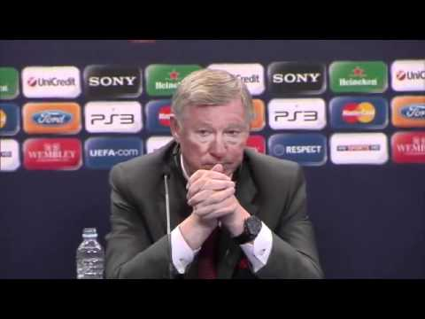 Barcelona 3-1 Manchester United - Ferguson and Guardiola postmatch - Champions League Final