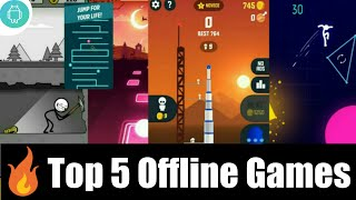 Top 5 🔥 Offline Games For Android Phone 🔥