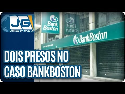 Dois presos no caso BankBoston