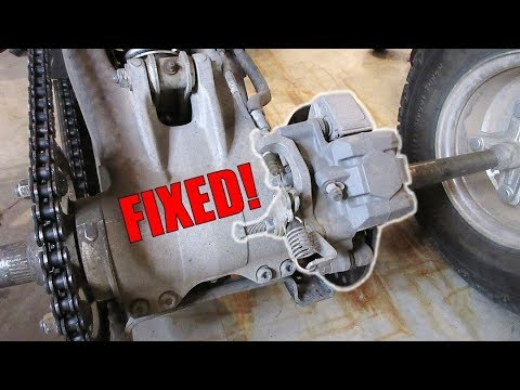 Yamaha Raptor - Parking Brake Adjustment - YouTube