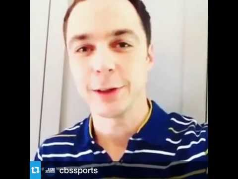 01 09 2014 JIM PARSONS GOOD LUCK TO GENIE BOUCHARD
