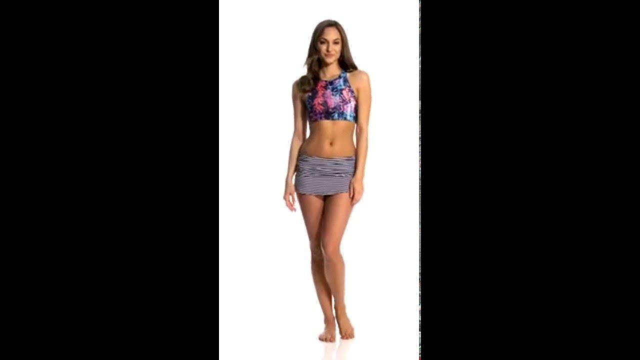 9e5515a397e37 Carve Designs Sanitas Reversible Bikini Top | SwimOutlet.com - YouTube