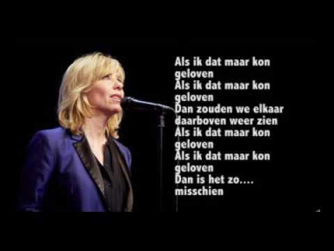 Iets Nieuws Claudia De Breij Als Ik Dat Maar Kon Geloven Lyrics - YouTube #OE23