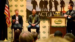 5.11 Tactical And The Act Of Valor Directors