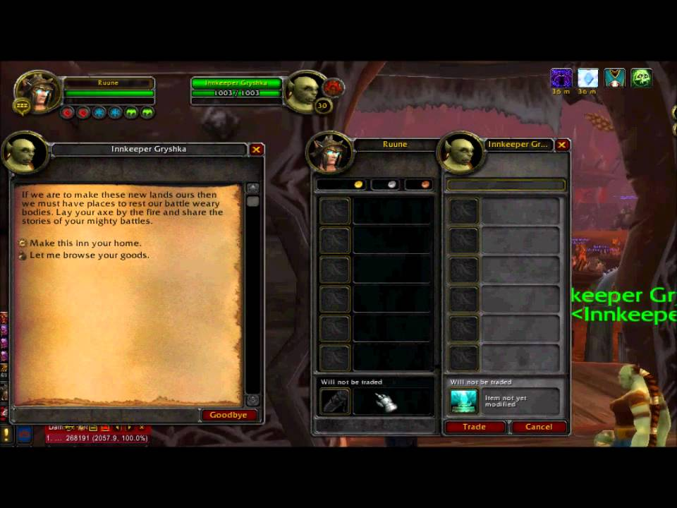 how to dupe items in wow