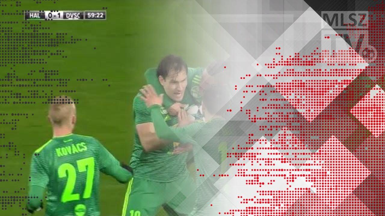 Michael Rabusic gólja a Swietelsky Haladás - DVSC mérkőzésen