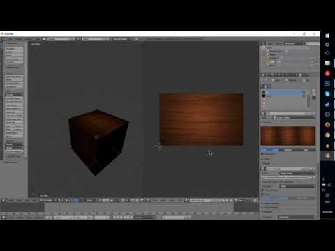 Add an Image Texture or Material to an Object in Blender Render | How to Blender 2.7 Tutorial