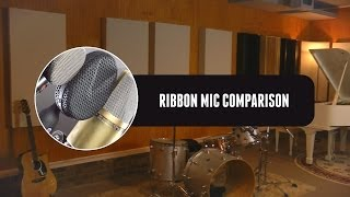 Coles 4038 4040 4030L Ribbon Mic Comparison: ZenPro Audio