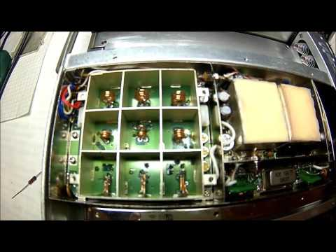 Anritsu ML524C Measuring Receiver, performance test, tear down, fault finding and repair Part 1