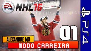 NHL 16: CARREIRA COM JOGADORA #01 - CRIANDO A DEUSA AO VIVO COM OS INSCRITOS!