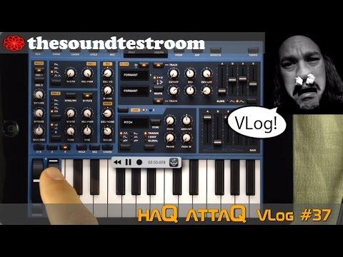 Working on Sunrizer synth presets │ haQ VLog 37