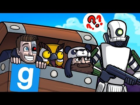 THEYLL NEVER FIND US IN HERE! Gmod Guess Who Funny Moments