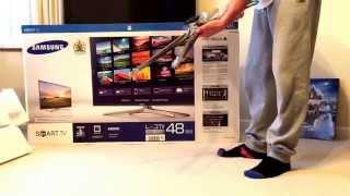 48' Samsung Smart/3D TV LED(UNBOXING)