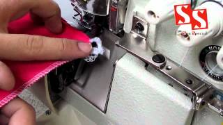 Maquina de Costura Industrial Overloque - Ideal para Camisetas - Sun Special SS8803W