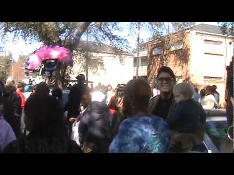 Coming Out The Door - Treme Sidewalk Steppers 2011 Second Li