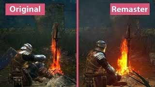 [4K] Dark Souls – Remastered vs. Original Prepare To Die Edition Graphics Comparison