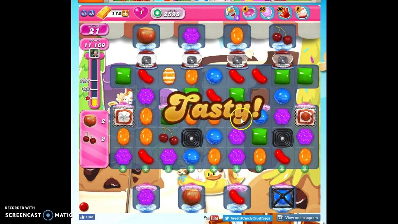 candy crush 2593