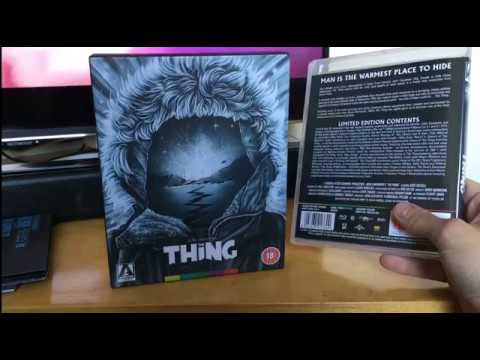 Arrow video limited edition The Thing (1982) box set unboxing