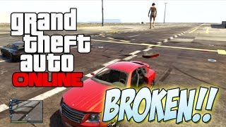 WE BROKE GTA V GTA 5 Invisible Glitch