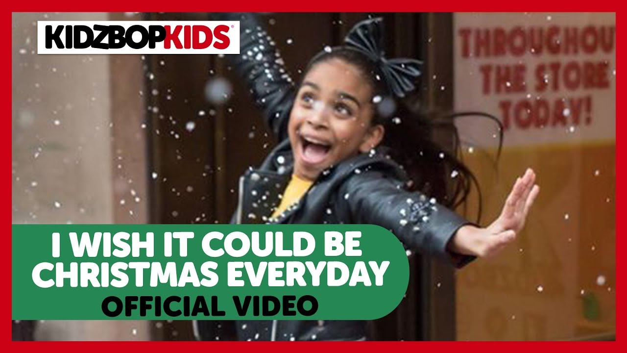 KIDZ BOP Kids - I Wish It Could Be Christmas Everyday (Official Hamleys Video)