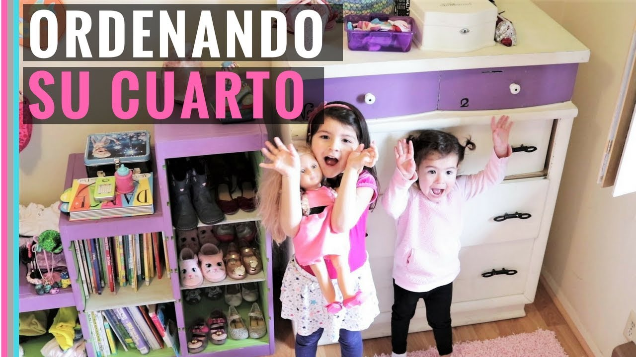 LITTLE GIRLS CLEANING UP THEIR ROOM | Motivation for kids