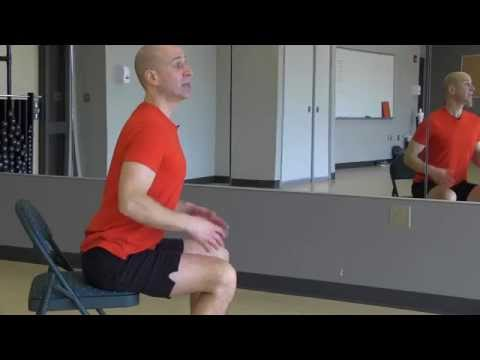 "3 ""yoga minute"" seated cat/cow pose  youtube"