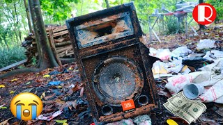 Restoration JBL speakers U.S audio broken | Restore and reuse old speakers