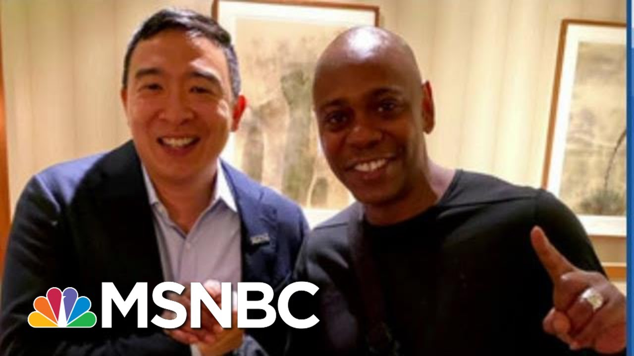 Dave Chappelle endorses Andrew Yang for president, will perform ...
