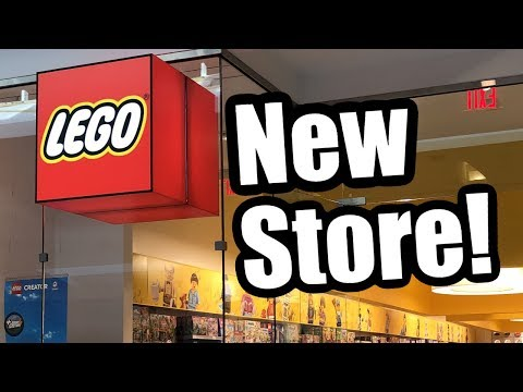 Visiting The 2019 Grand Opening Of A LEGO Store!