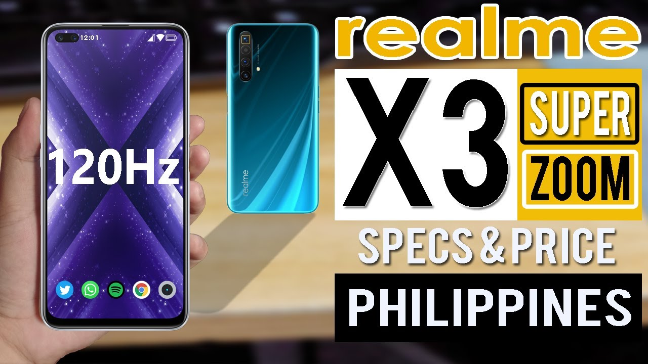 Realme X3 Superzoom Specs Features Price In The Philippines