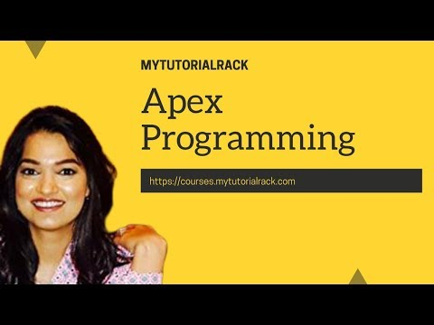 Apex Programming Tutorial for beginners : data types, variables and constants in salesforce