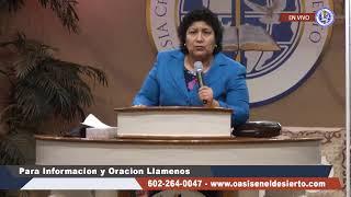 La Santificación Progresiva | Pastora.  Lucia Mendoza | Martes 12 de Mayo 2020