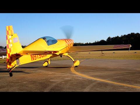 Aerobatic Airplane Start - Airport Sightings