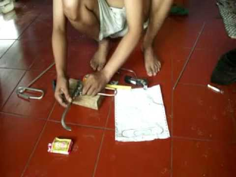 HOW TO MAKE A FOLDED DIPOLE WITH TUBE BENDER