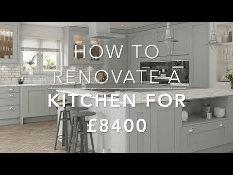 How To Renovate A Kitchen – For £8400 – London Home Renovation
