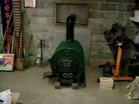 - Vogelzang Barrel Stove Complete!! - YouTube