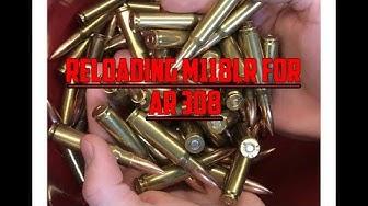 Reloading M118LR for AR308