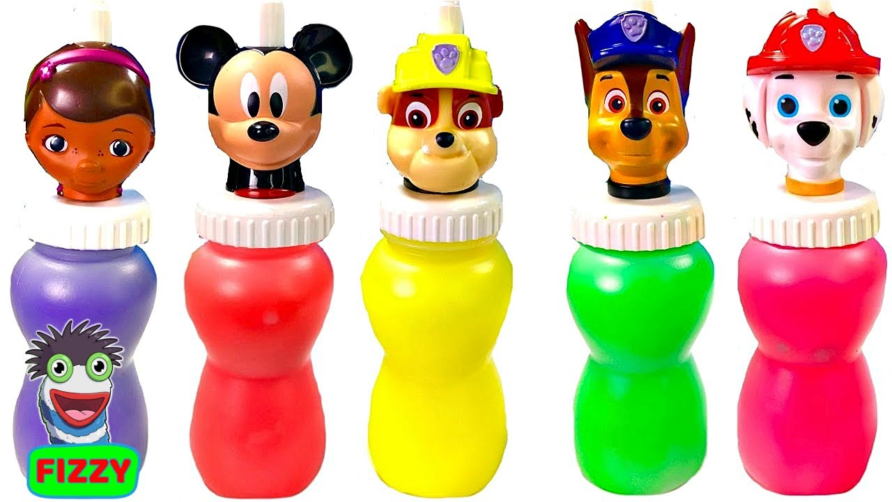 Fizzy Learns Colors and Counting with Paw Patrol Pups