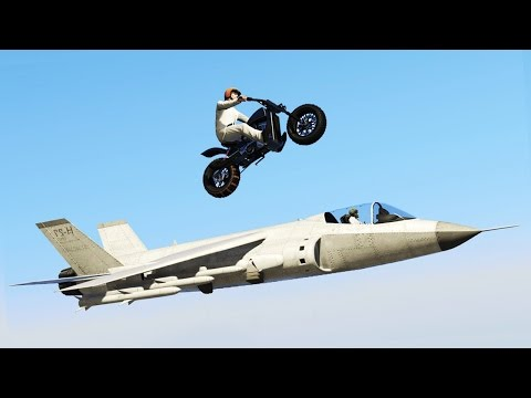 THE IMPOSSIBLE JET CHALLENGE! (GTA 5 FUNNY MOMENTS)