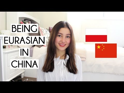 Being Eurasian in China⎮混血在中国的经历 (eng sub)