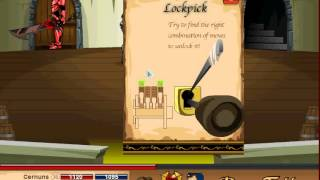 How to unlock the secret Closet Storage in Oaklore Keep Dragonfable