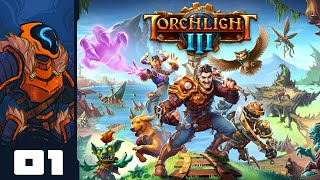 Torchlight 3 [Full Release!] - Blasting Through The Frontier As A Vampire Robot!