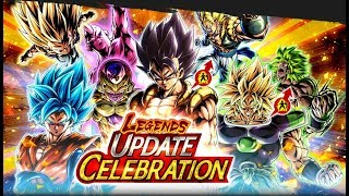 INVOCATIONS 200 TICKETS LEGENDS UPDATE - DRAGON BALL LEGENDS