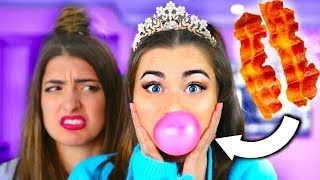 Trying WEIRD Gum Flavors! ft. Rclbeauty101